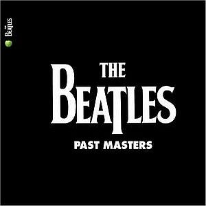 THE BEATLES - Past Masters (remastered) CD album cover