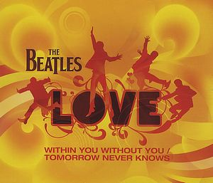 The Beatles - Within You Without You / Tomorrow Never Knows (promo) CD (album) cover