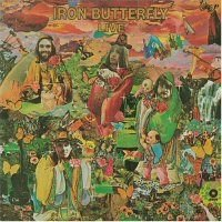 Iron Butterfly - Live CD (album) cover