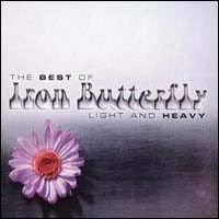 Iron Butterfly - Light And Heavy : The Best Of Iron Butterfly CD (album) cover