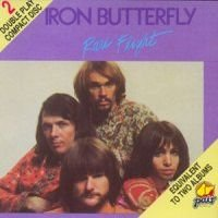 Iron Butterfly - Rare Flight CD (album) cover