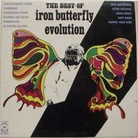 Iron Butterfly - Evolution : The Best Of Iron Butterfly CD (album) cover
