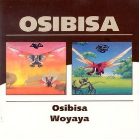 Osibisa - Osibisa/woyaya CD (album) cover