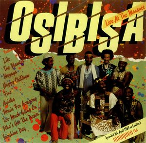 Osibisa - Live At The Marquee CD (album) cover