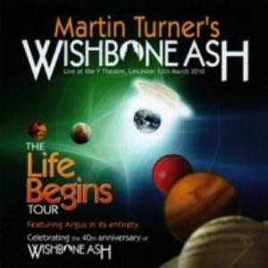 Wishbone Ash - The Life Begins Tour CD (album) cover