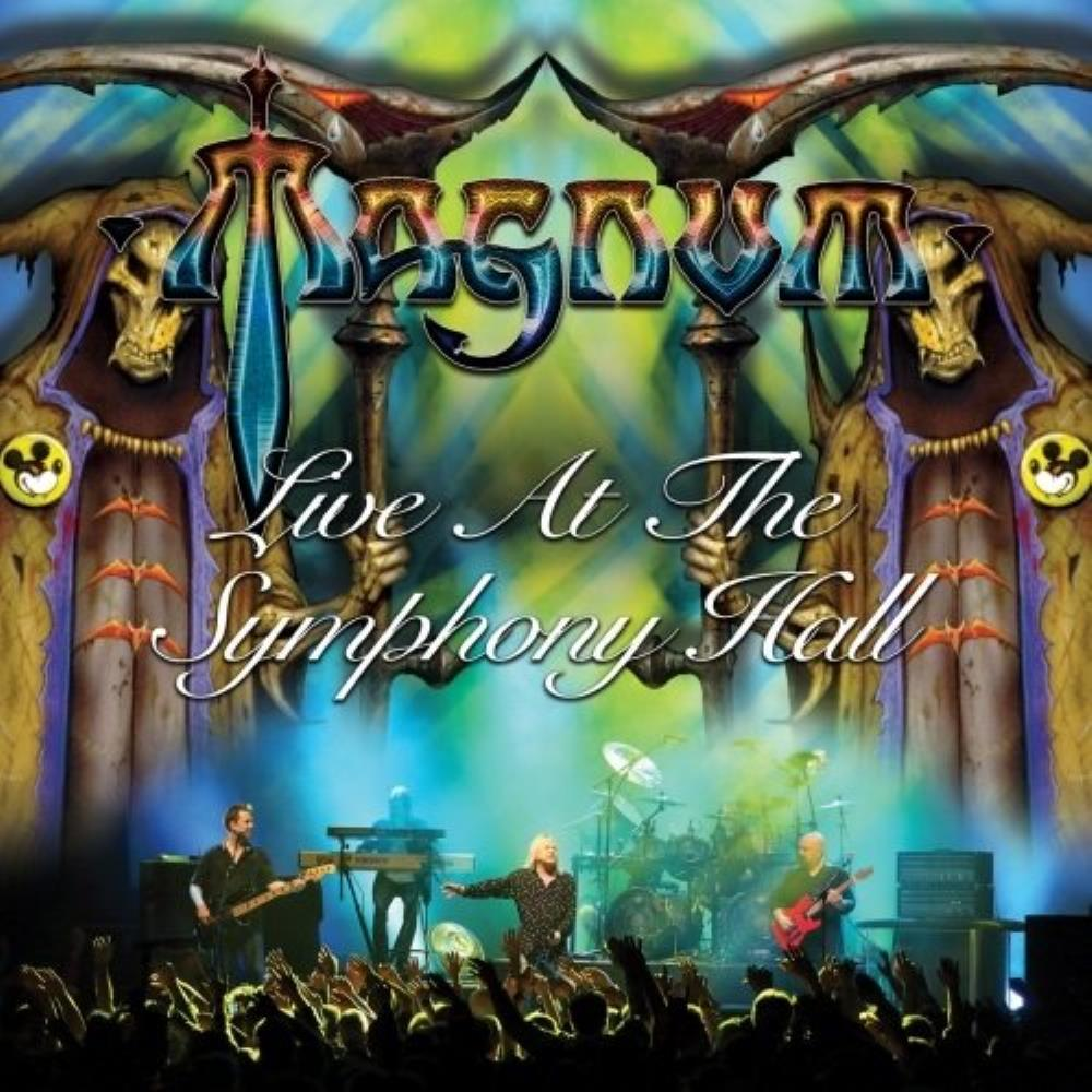 Magnum - Live At The Symphony Hall CD (album) cover