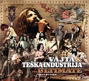 Teska Industrija - The Ultimate Collection (as Vajta & Teska Industrija) CD (album) cover