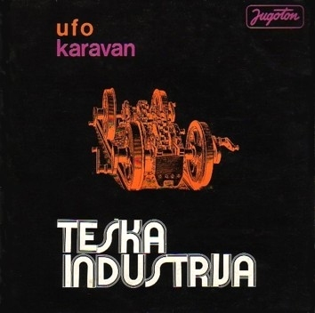 Teska Industrija - Karavan CD (album) cover