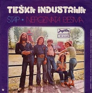 Teska Industrija - Stap CD (album) cover