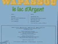 Wapassou - Lac D'argent CD (album) cover
