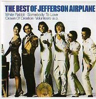 JEFFERSON AIRPLANE - The Best Of Jefferson Airplane CD album cover