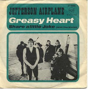JEFFERSON AIRPLANE - Greasy Heart CD album cover