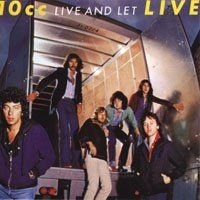 10 Cc - Live And Let Live CD (album) cover