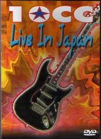 10 Cc - Live In Japan DVD (album) cover