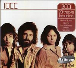 10 Cc - 10CC (Platinum Collection) CD (album) cover