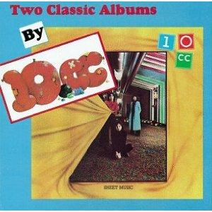 10 Cc - Two Classic Albums By 10cc CD (album) cover