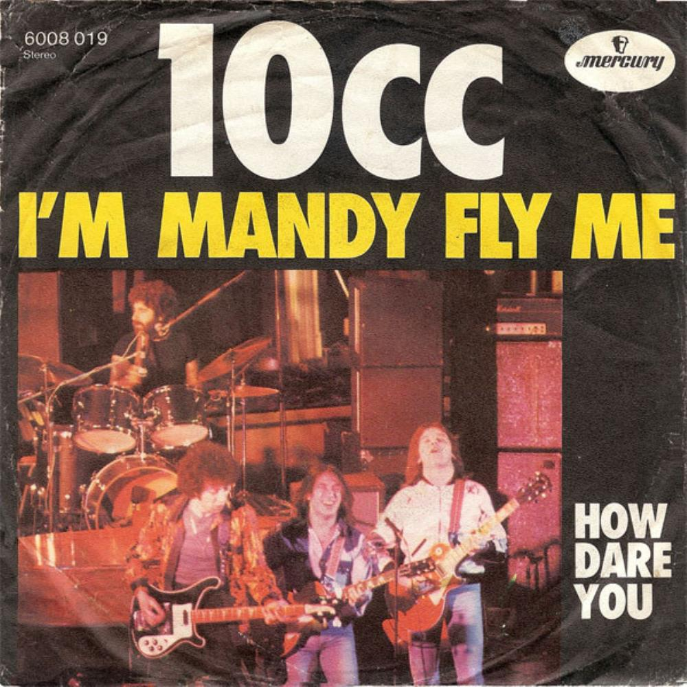 10 Cc - I'm Mandy, Fly Me CD (album) cover