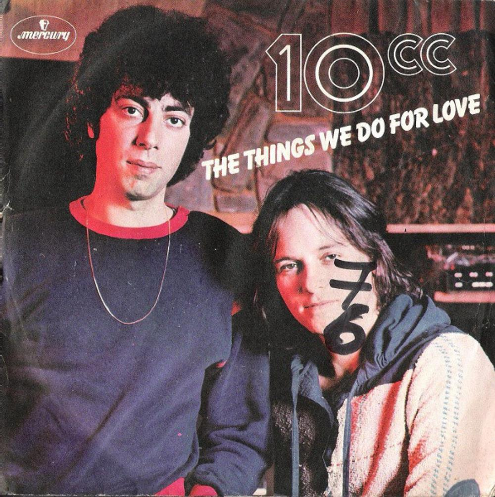 10 Cc - The Things We Do For Love CD (album) cover