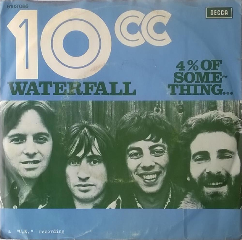 10 Cc - Waterfall CD (album) cover