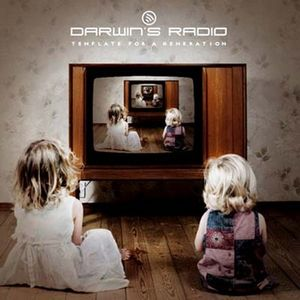 DARWIN'S RADIO - Template For A Generation CD album cover