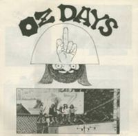 Taj-mahal Travelers - OZ Days CD (album) cover