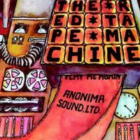 Anonima Sound Ltd. - Red Tape Machine CD (album) cover