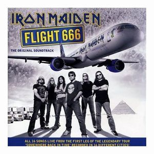Iron Maiden - Flight 666:the Film (live Soundtrack) CD (album) cover