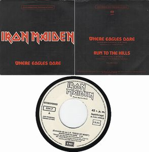 Iron Maiden - Where Eagles Dare Promo CD (album) cover