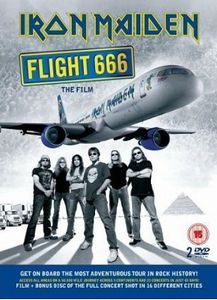 Iron Maiden - Flight 666: The Film DVD (album) cover