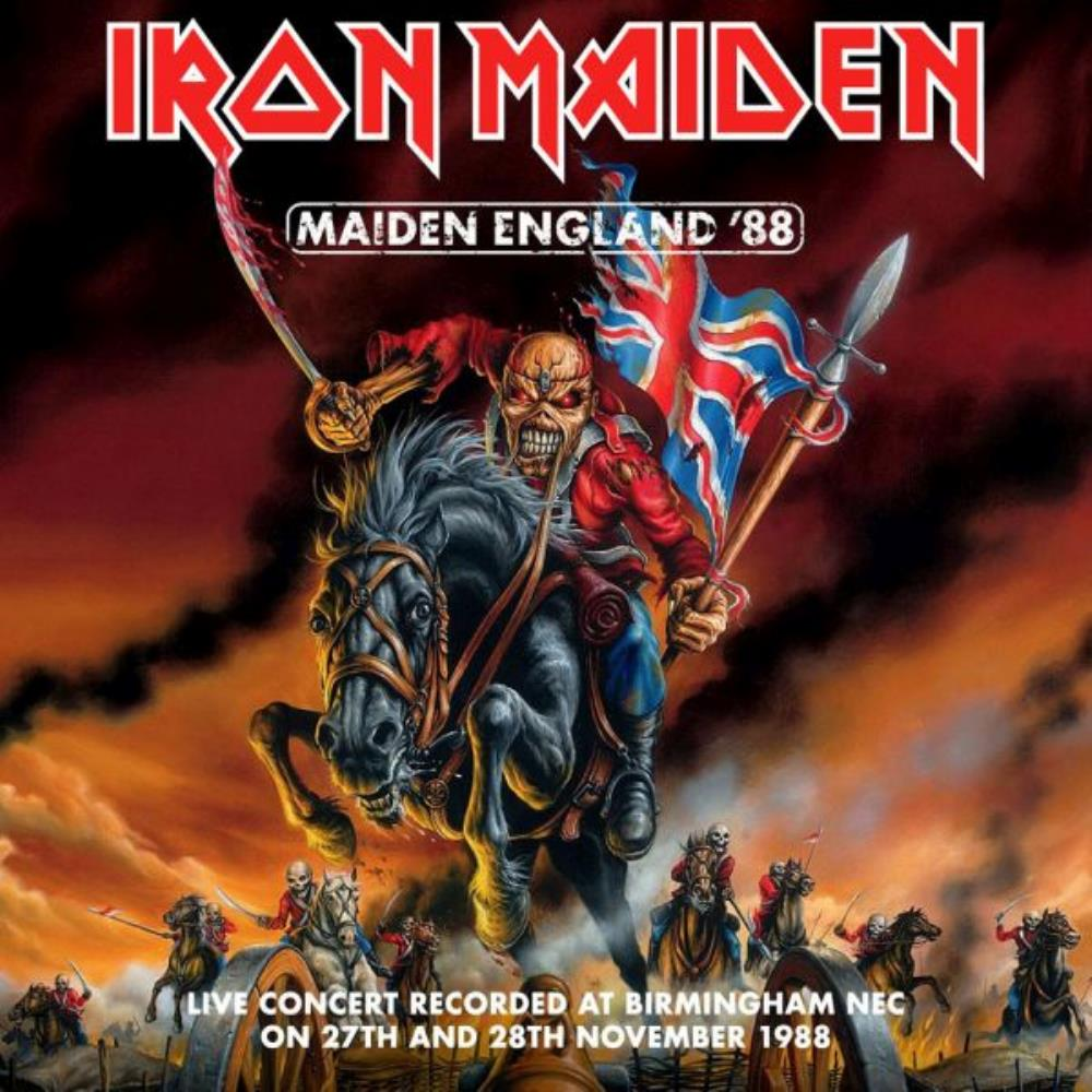 Iron Maiden - Maiden England'88 CD (album) cover