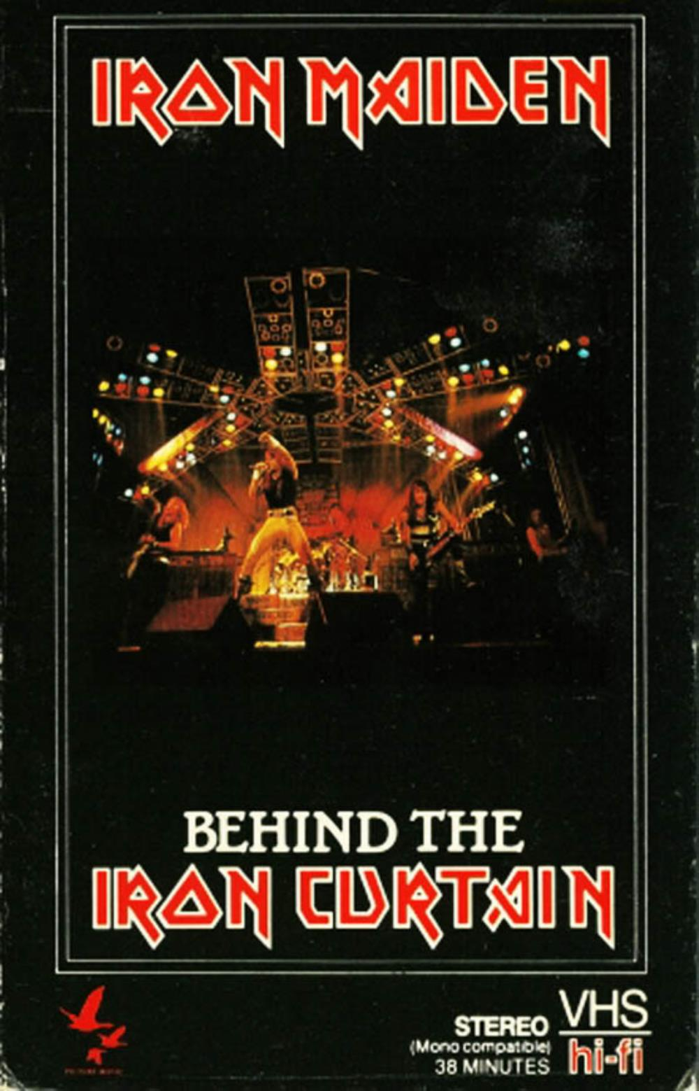 Iron Maiden - Behind The Iron Curtain DVD (album) cover