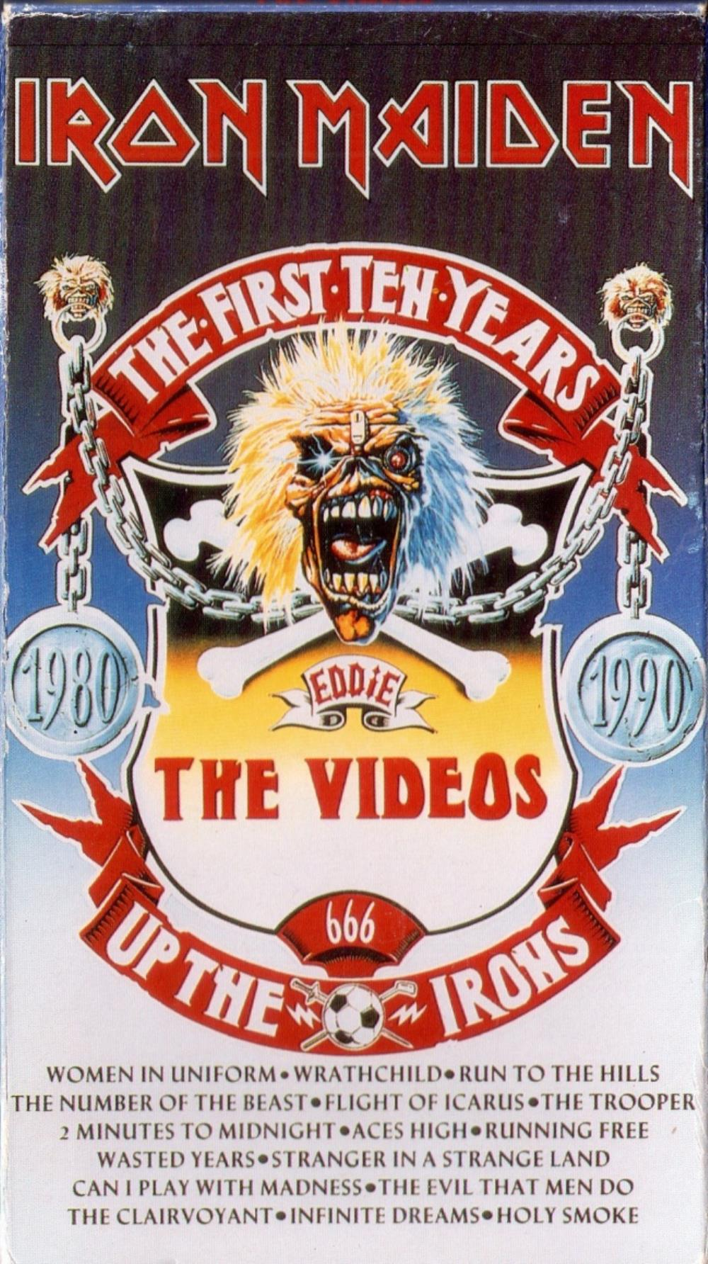 Iron Maiden - The First Ten Years - The Videos DVD (album) cover