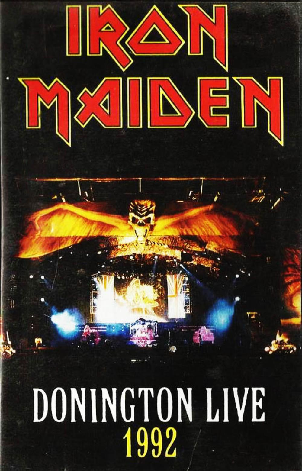 Iron Maiden - Live At Donington DVD (album) cover