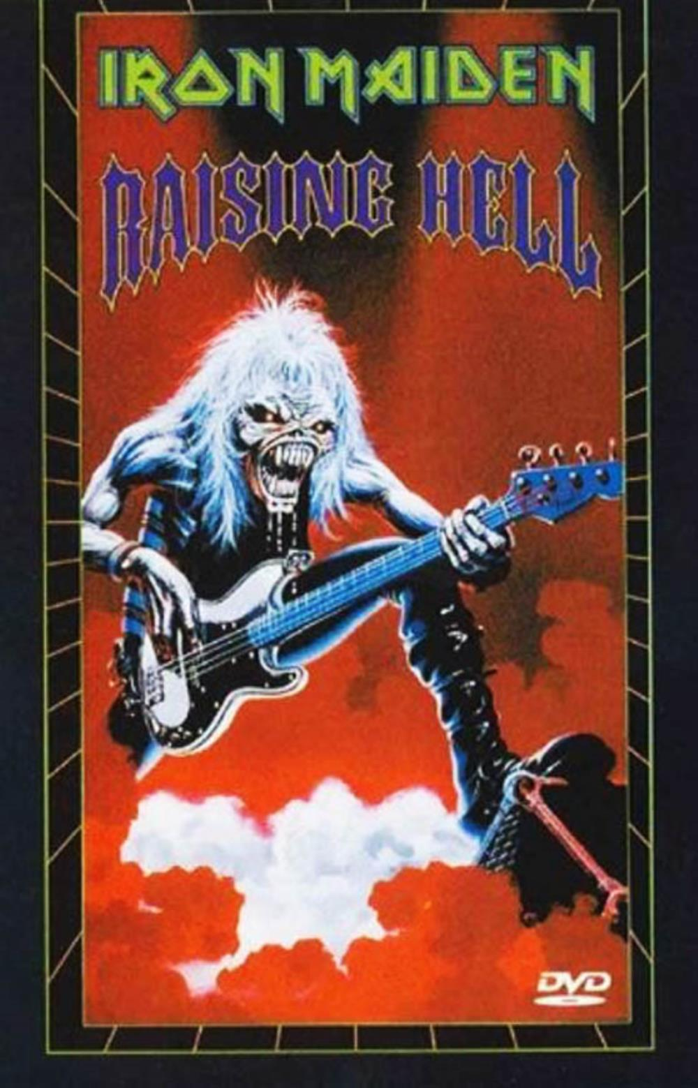 Iron Maiden - Raising Hell DVD (album) cover