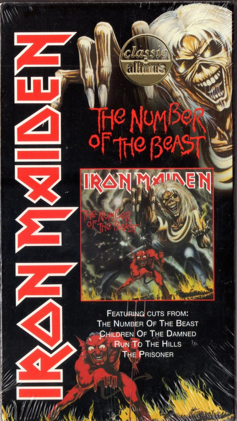 Iron Maiden - Classic Albums: The Number Of The Beast DVD (album) cover