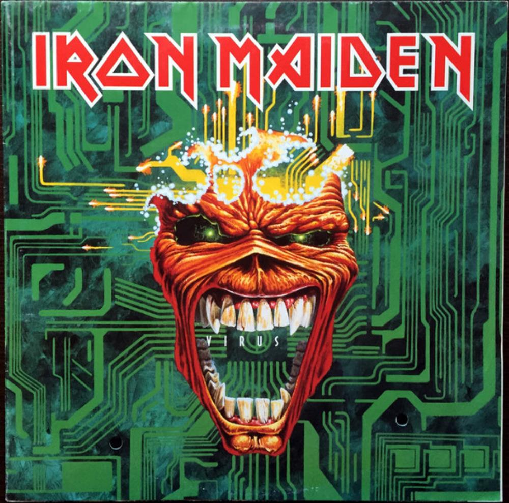 Iron Maiden - Virus CD (album) cover