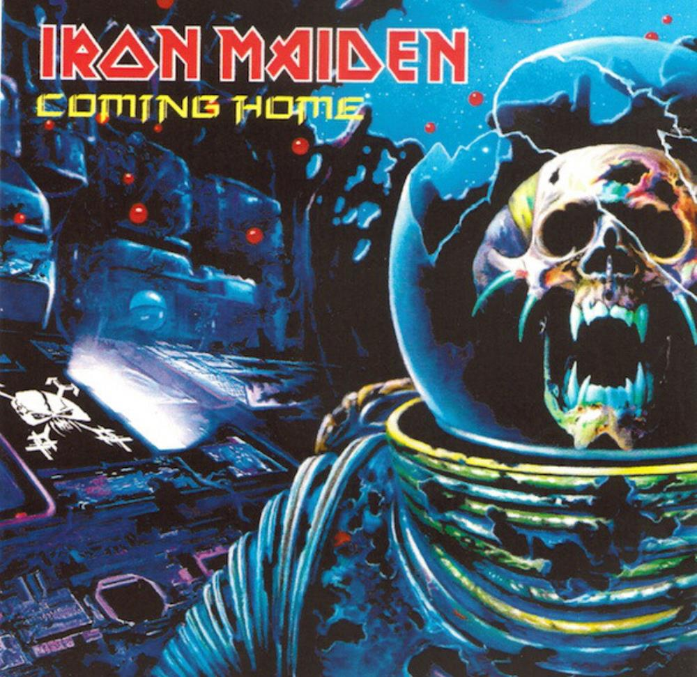 Iron Maiden - Coming Home CD (album) cover