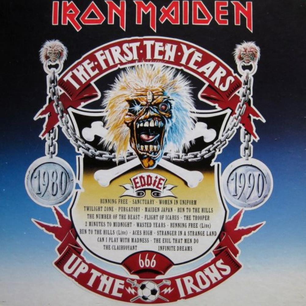 Iron Maiden - The First Ten Years CD (album) cover