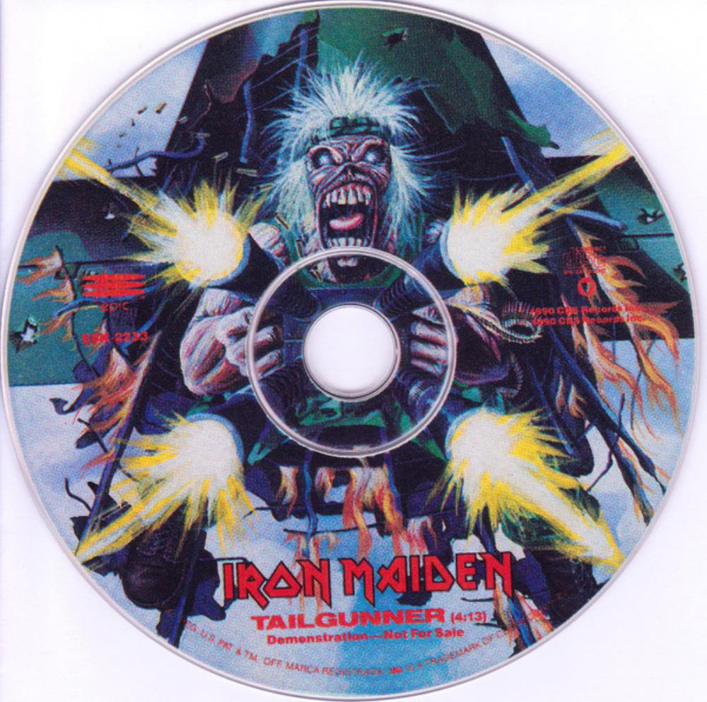 Iron Maiden - Tailgunner CD (album) cover