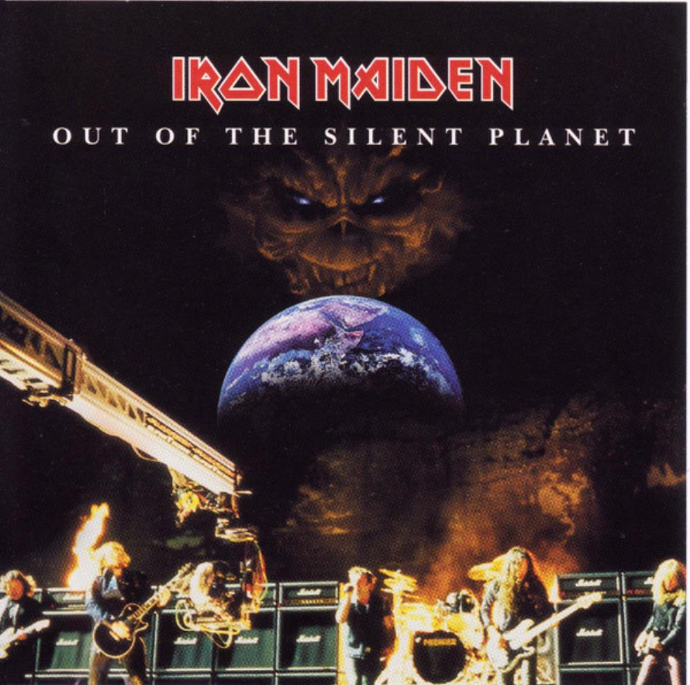 Iron Maiden - Out Of The Silent Planet CD (album) cover
