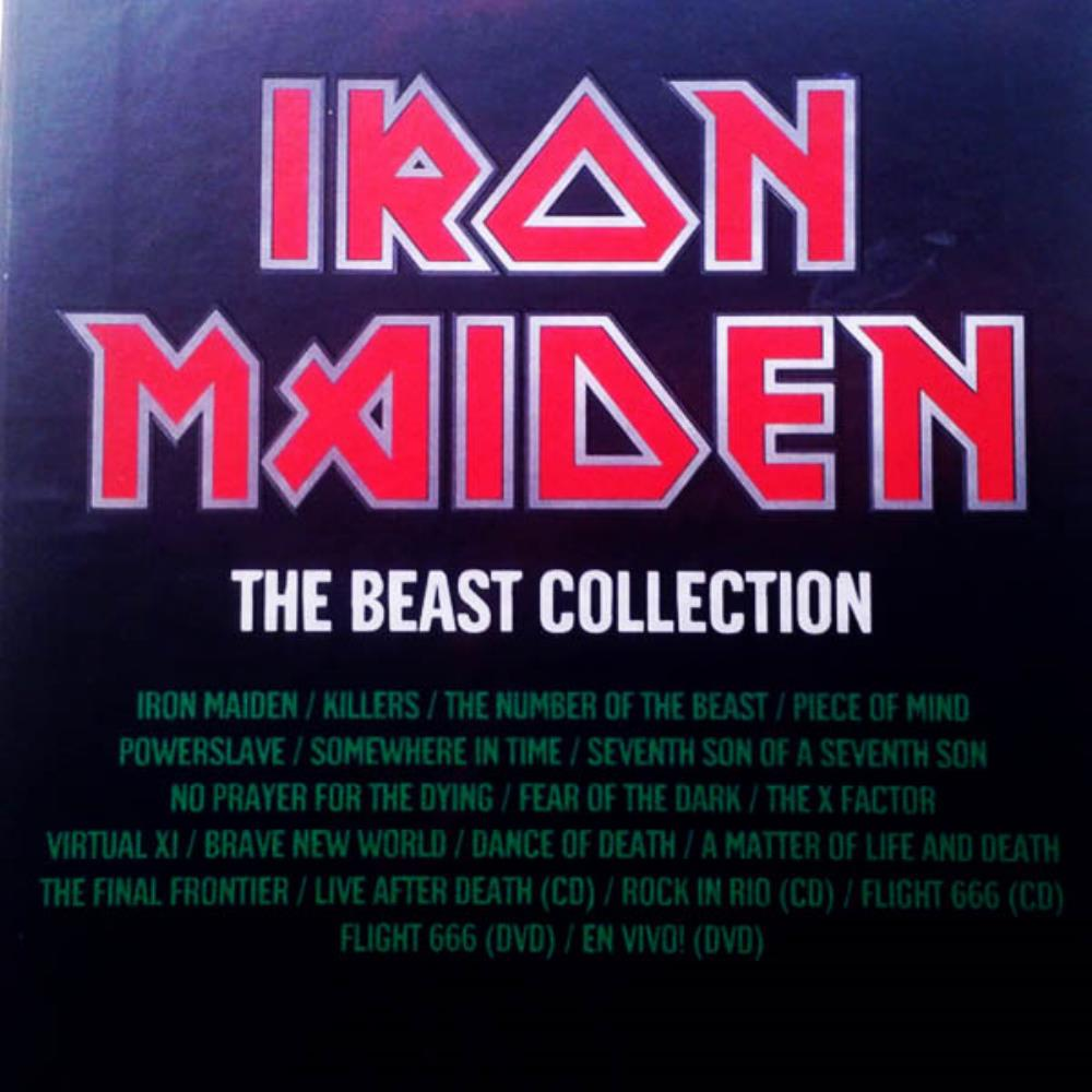 Iron Maiden - The Beast Collection CD (album) cover