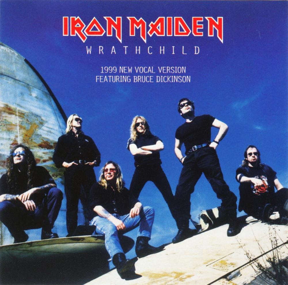Iron Maiden - Wrathchild CD (album) cover