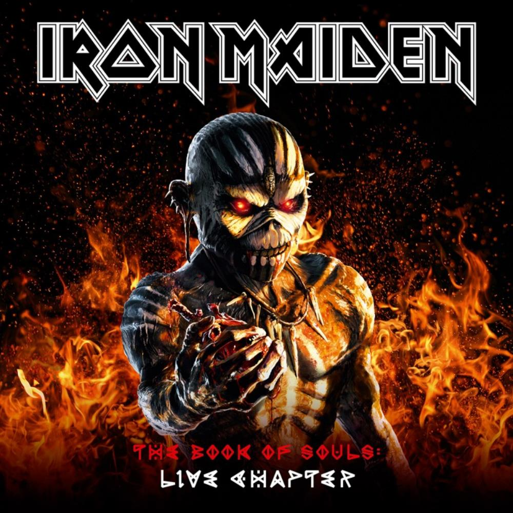 Iron Maiden - The Book Of Souls: Live Chapter CD (album) cover