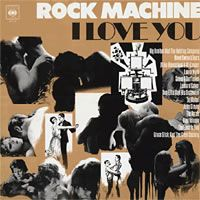 Various Artists (label Samplers) - Rock Machine I Love You CD (album) cover
