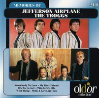Various Artists (label Samplers) - Memories Of Jefferson Airplane And The Troggs CD (album) cover