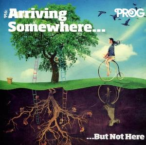 Various Artists (label Samplers) - Prog Mag Sampler No. 38 - P16: Arriving Somewhere... But Not Here CD (album) cover
