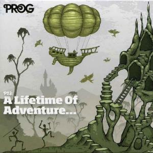 Various Artists (label Samplers) - Prog P23: A Lifetime Of Adventure ... CD (album) cover
