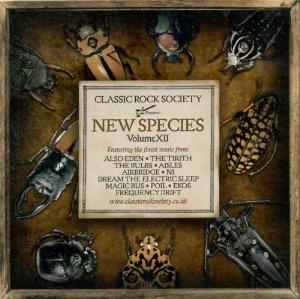 Various Artists (label Samplers) - Classic Rock Society - New Species - Volume Xii CD (album) cover