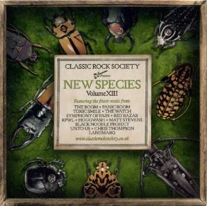 Various Artists (label Samplers) - Classic Rock Society - New Species - Volume Xiii CD (album) cover
