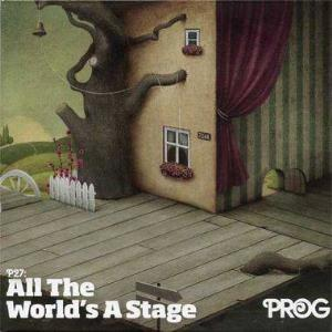 Various Artists (label Samplers) - Prog P27: All The World's A Stage CD (album) cover